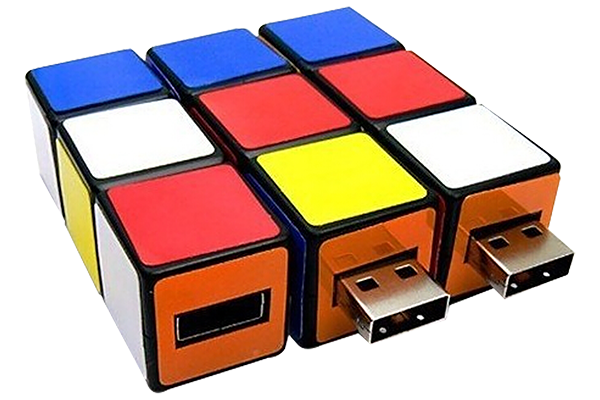gagdet aziendale usb cubo