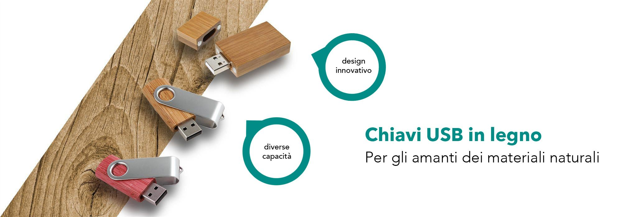 Pendrive USB Wood